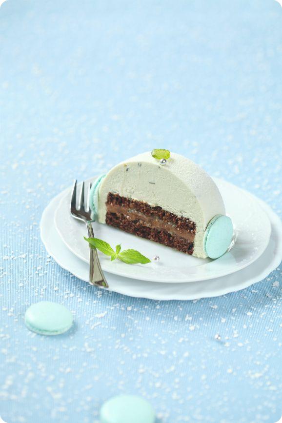 Verdade de Sabor: Schokoladen-Minze Kuchen mit Kalk / Torta de Mousse Schokolade e hortelã com lima