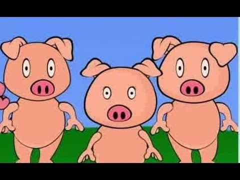The Three Little Pigs - Animated Story Book - YouTube
