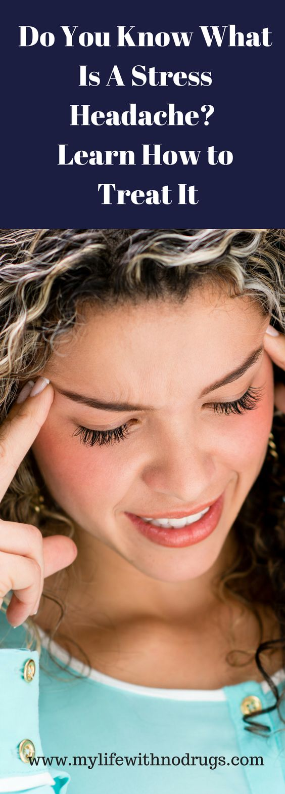 What Is A Stress Headache? Learn How to Threat It #Stress #StressHeadache #Headache