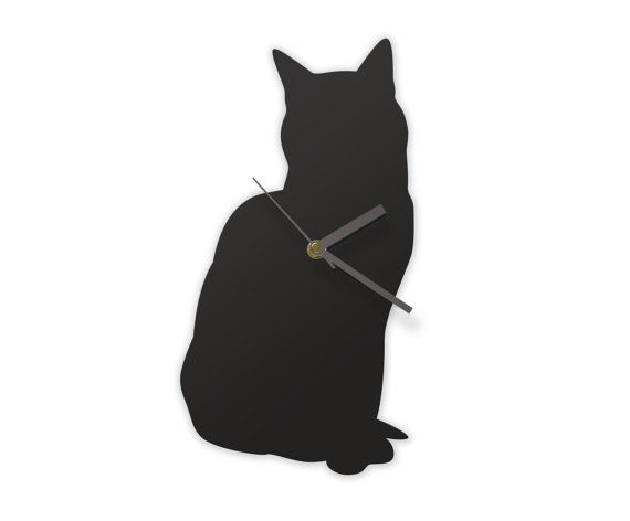 Sitting Cat Clock A cat that can tell the time by JolyonYates