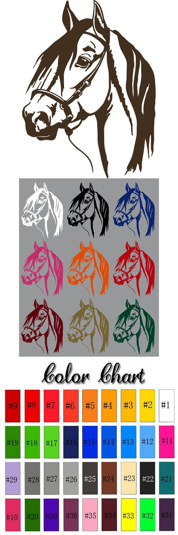 2015 cute horse head home decors western rodeo styles riding horse wall stickers boys bedroom posters pegatinas de pared decals