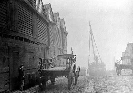 Cannon Wharf, Westminster c. 1856