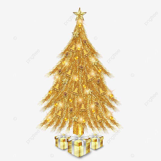 شجرة عيد الميلاد الديكور تصميم خلفية شفافة اللون الذهبي قصاصات فنية شفافة شجرة عيد الميلاد شجرة عيد الميلاد الذهبية Png وملف Psd للتحميل مجانا Ceiling Lights Light Decor