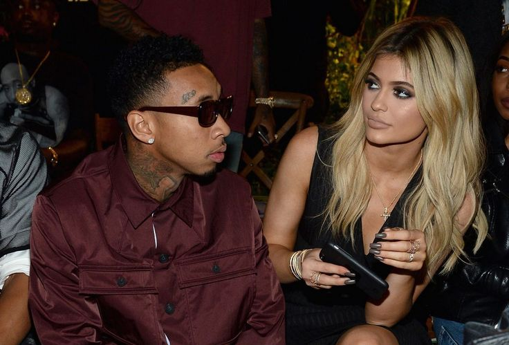 NYFW - New York Fashion Week - Tyga and Kylie Jnner in New York City 2015