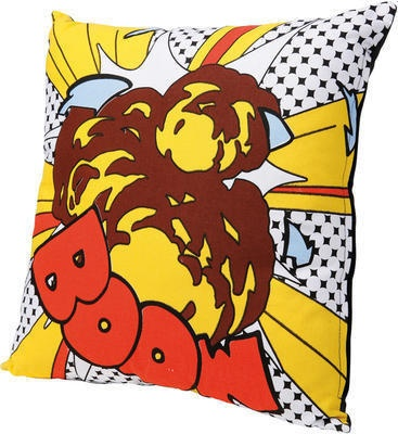 Pop Art Boom Cushion from Dwell