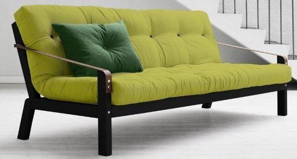 (2) FINN – Ny POETRY sovesofa fra KARUP, limegrønn
