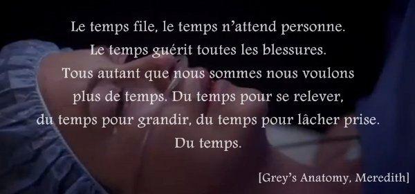 Meredith de Grey's Anatomy