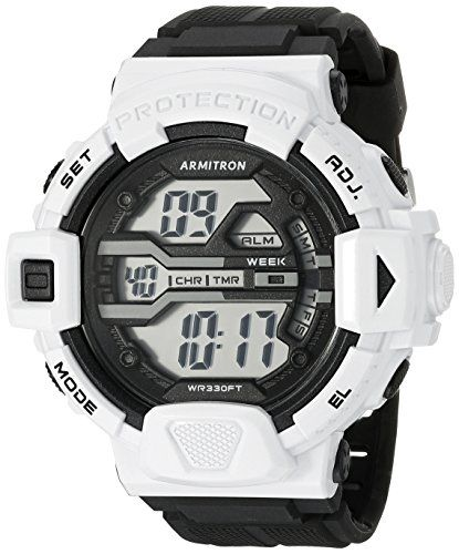 Armitron Sport Men's 40/8360WHT White Accented Digital Chronograph Black Resin Strap Watch https://www.carrywatches.com/product/armitron-sport-mens-408360wht-white-accented-digital-chronograph-black-resin-strap-watch/ Armitron Sport Men's 40/8360WHT White Accented Digital Chronograph Black Resin Strap Watch  #armitronsportwatches-armitronallsport #Chronographwatch #whitewatchesformen Check...