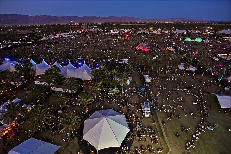 Coachella view