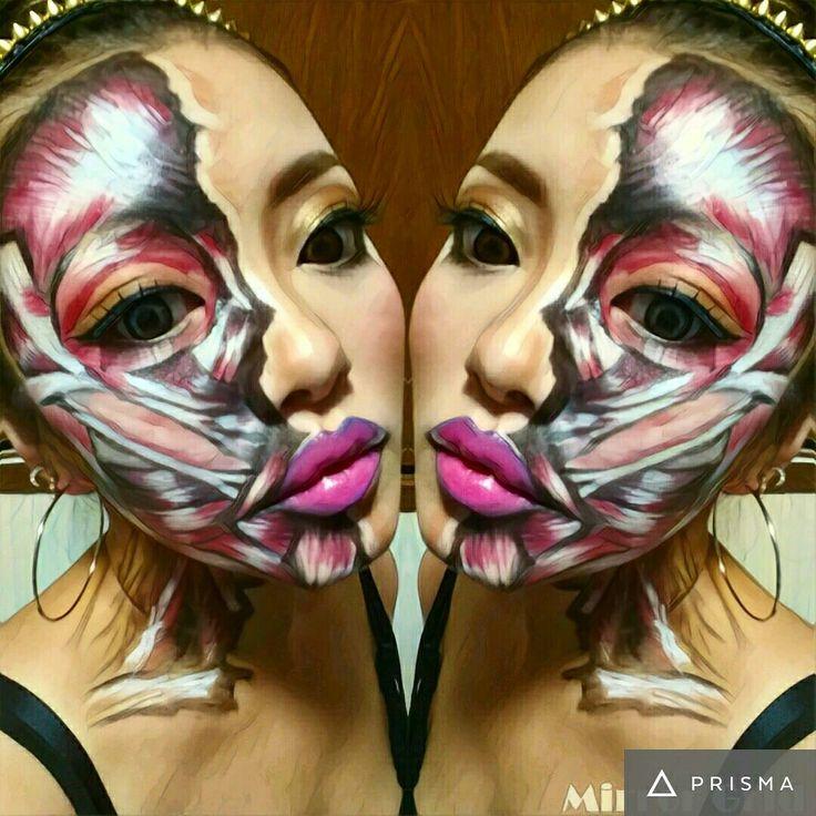 Halloween makeup  進撃の巨人メイク✨ Hair&make Welina Hitomi.yanagida