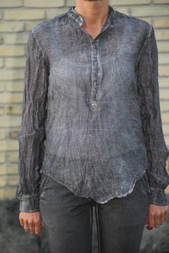 Copenhagen Luxe Skjorte Dark Grey - Skjorter - MaMilla