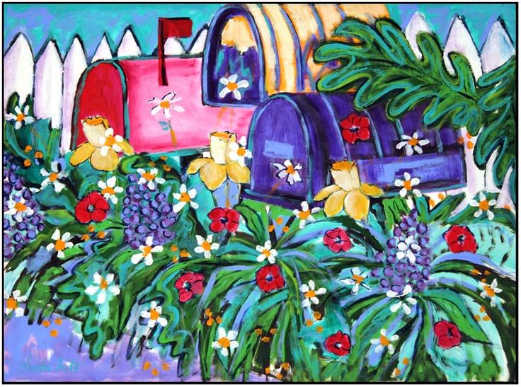 You've Got Mail!  clutteredquilter.blogspot.com
