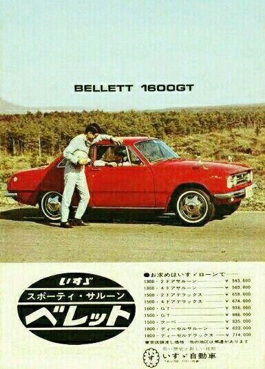 Isuzu Bellett 1600GT