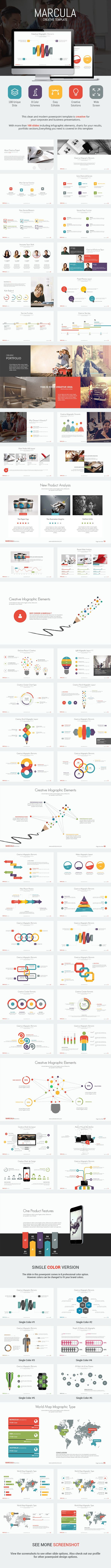 Marcula - Presentation Template (Powerpoint Templates) Marcula 20 20Preview 20Full 20Image