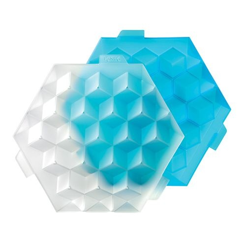 Get perfectly cubic ice cubes with Ice Cube! Dare to experiment with new textures and flavours by adding fruit and herbs to your cocktails. It includes recipes for alcoholic and non-alcoholic drinks.
