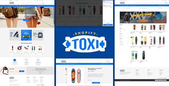 Toxi - Responsive UX Shopify Theme