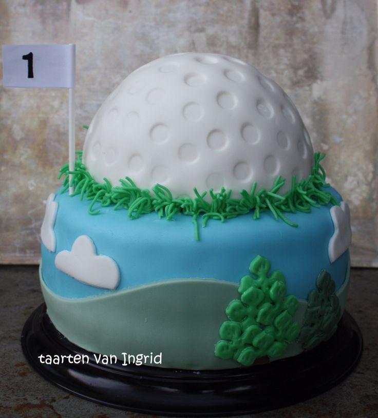 Golf taart / cake