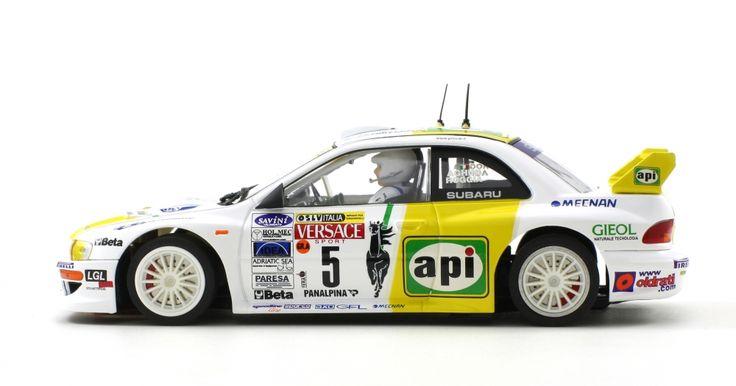Subaru Impreza WRC Api Rally Lana 2001 - Scaleauto • 1/32 & 1/24 Race Tuned Slot Racing Competition Cars
