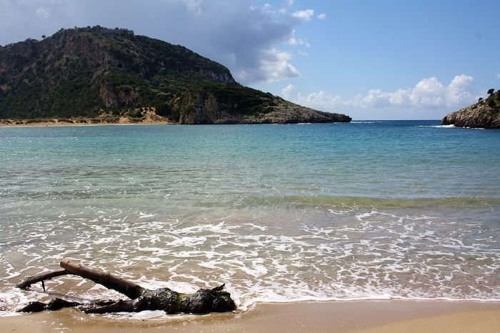 Voidokilia Beach, Costa Navarino, Greece