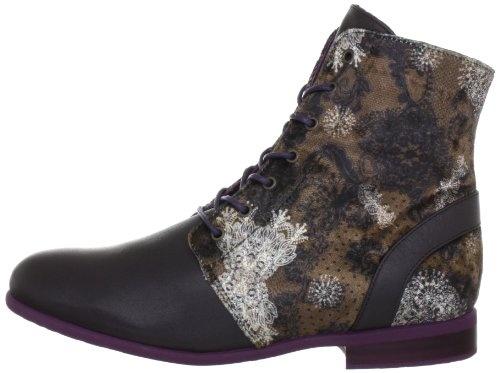 Desigual ANKLE BOOT CIRUELA 27TS305, Damen Fashion Halbstiefel & Stiefeletten, Braun (Mustang 6073), EU 40 | Desigual Mode