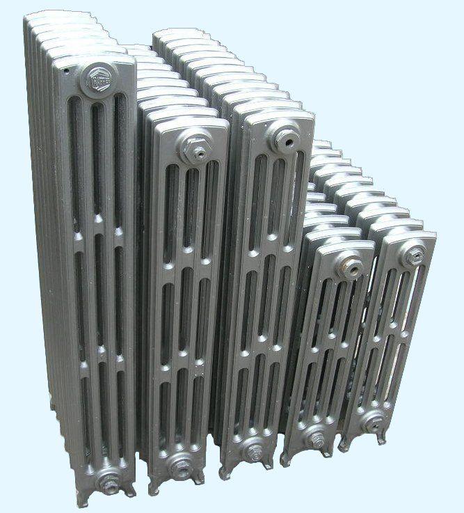 Radiateurs classiques, le modèle le plus courant à petites colonnes - http://www.radiateurfonte.com/radiateur-fonte/radiateurs-classiques.php
