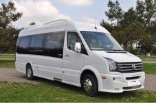 Volkswagen Crafter 19+1 seat VIP place Lux private transfers, Sofia airport shuttles,
