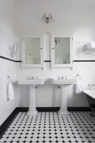 17 beste idee n over art deco badkamer op pinterest art deco decor art deco behang en - Deco badkamer vintage ...