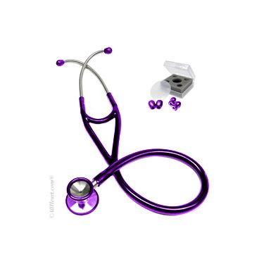 allheart Cardiology #Stethoscope in gorgeous #purple