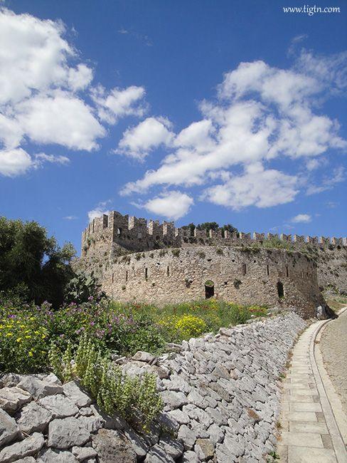 #Akronafplia Castle in #Nafplio - #Greece