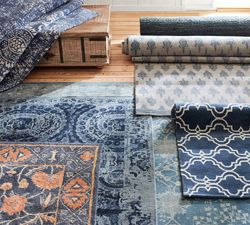 Pottery Barn Design Your Own Rug Feature, you choose style, size, color, etc.