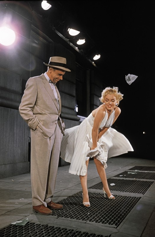 "Marilyn Monroe in ""The Seven Year Itch"" (1954) - Production Photo."