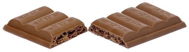 These wonderfully bubbly chocolate bars:   20 Things That Are Too Canadian To Handle