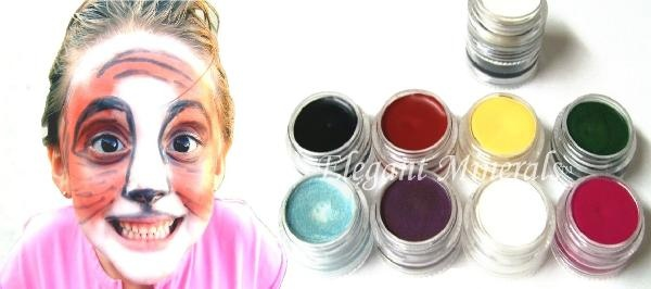 Natural Non Toxic Costume Face Paint Stage Makeup Paraben
