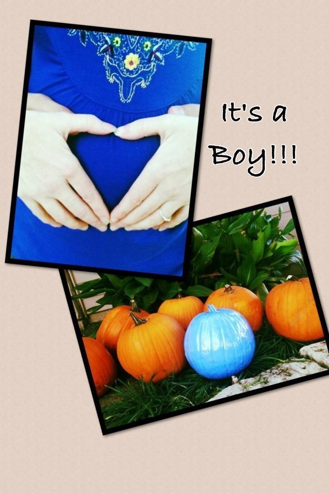 Gender reveal for my October baby!!