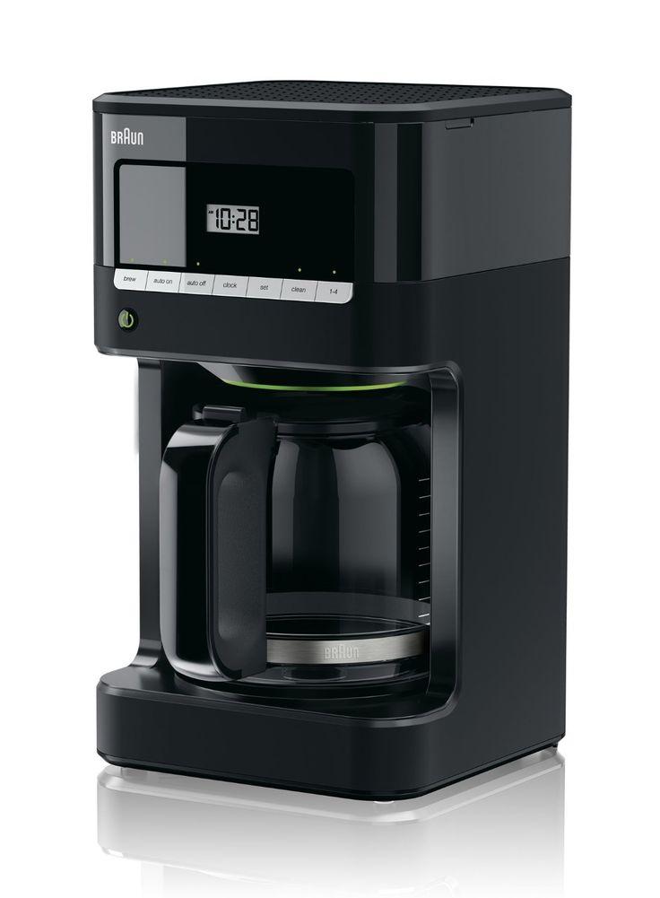 Amazon.com: Braun KF7000BK Brew Sense Drip Coffee Maker, Black: Kitchen &…