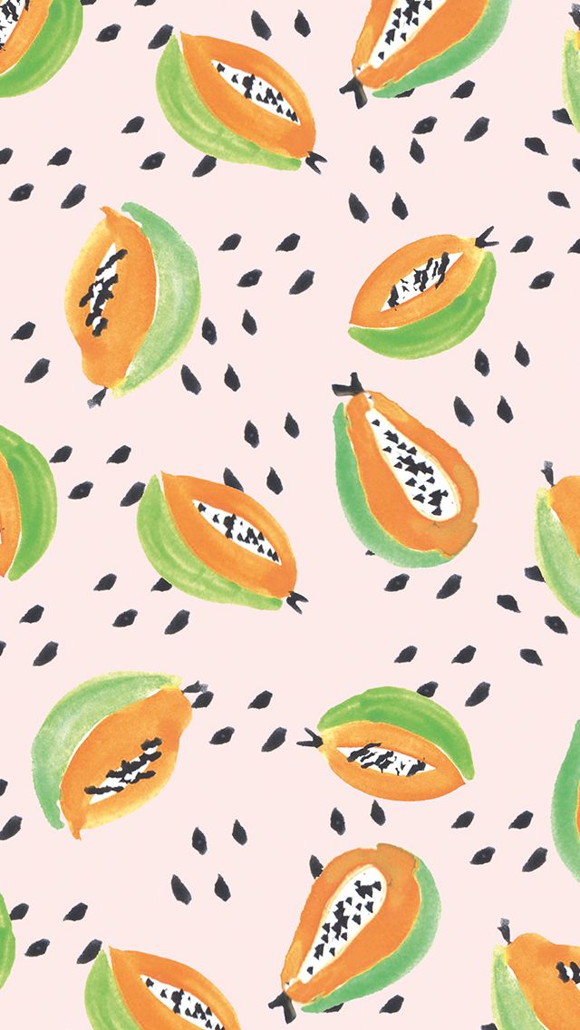Give Your Devices A Summery Vibe With These Pretty Papaya