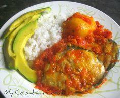 Bagre en Salsa mycolombiacocina.com