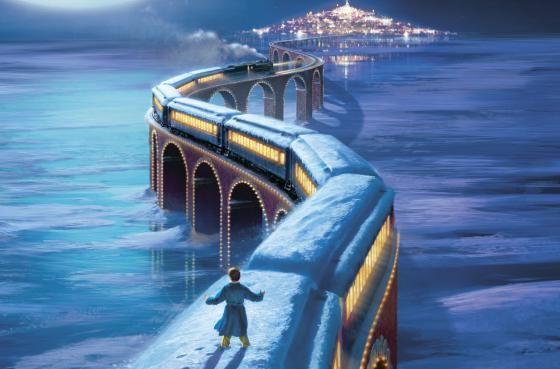 """10 films à regarder à #Noël... """"Le Pôle Express"""", de Robert Zemeckis, avec Tom Hanks."""
