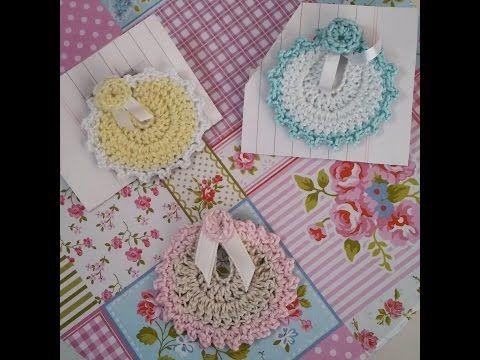 Lembrancinha de Maternidade - passo a passo - de crochê - Simone Eleoterio - YouTube