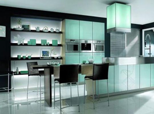 Check out this kitchen! Great Lighting #Modern #Luxury