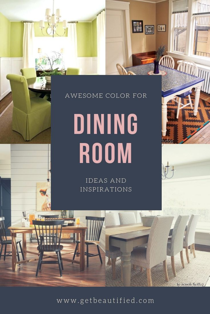 Our Dining Room Color Ideas Gallery Includes Our Most Popular
