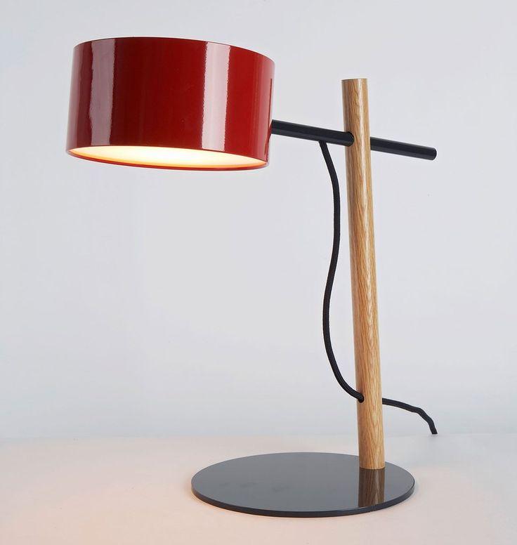 Desk Lamp (Red)