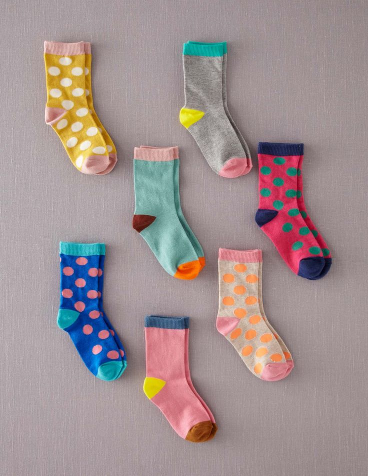 Socks - 2 per day unless it's warm or you have access to a washer