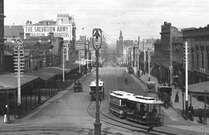Bourke Street Melbourne 1900