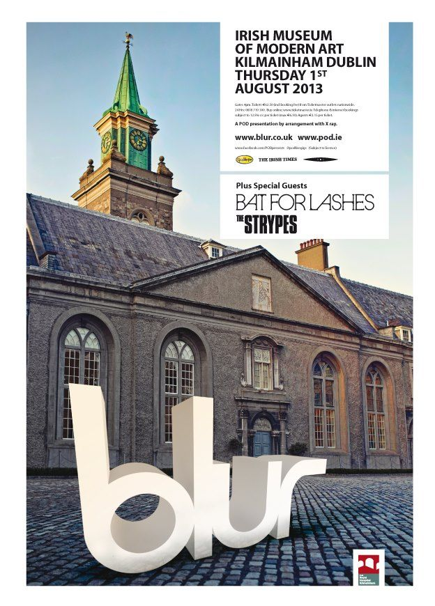 Blur plus guests Bat for Lashes and The Strypes Royal Hospital Kilmainham, Dublin 1 August 2013