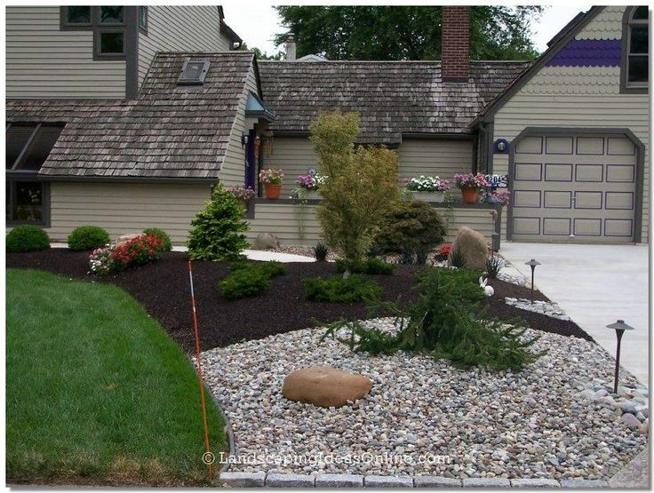 44 best images about front hill on pinterest river rock for Landscaping a hill with rocks