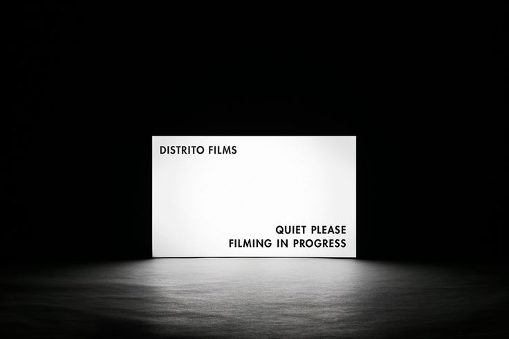 Distrito Films. Design by www.anagrama.com
