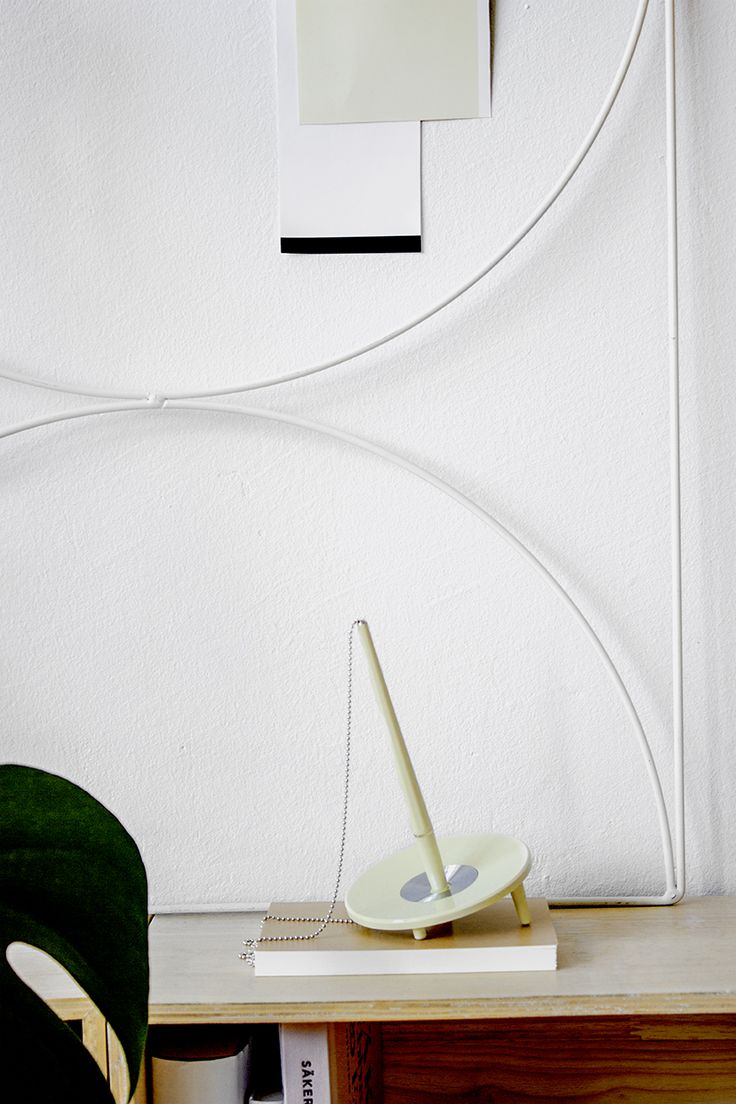 Wallment Bow Grid in White | A young couple's urban home in Kungsholmen, Stockholm City