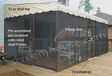 Patio Mate Screen Enclosure Backyard Ideas Pinterest