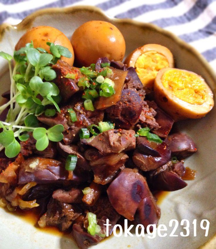 やみつき生姜と鶏レバーで作る料理レシピセレクト